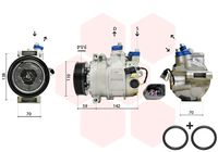 Compressor, airconditioning